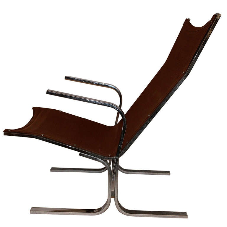 Ingmar Relling (1920-2002), pair of Armchairs, Sweden, Circa 1970 For Sale