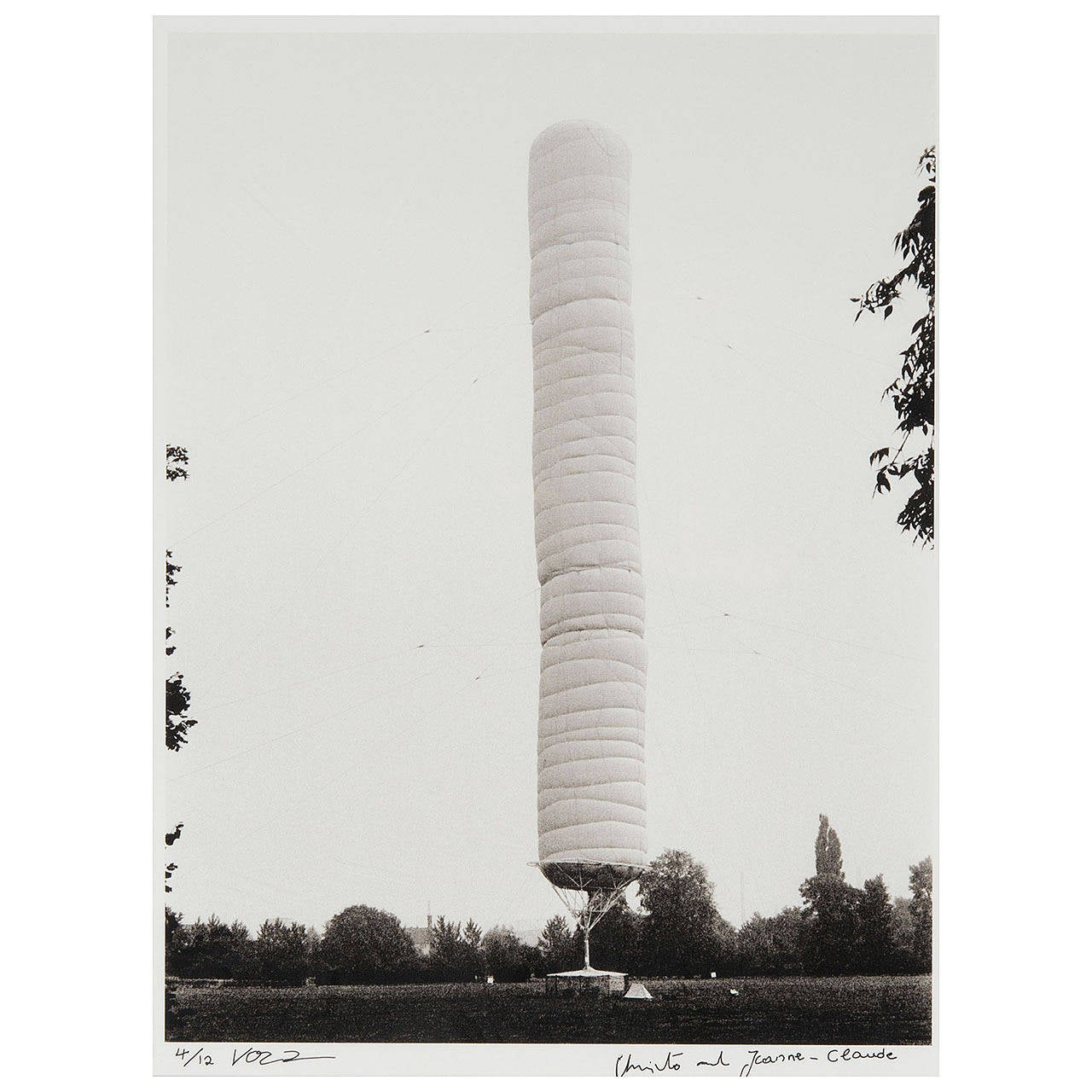 Christo and Jeanne-Claude Ultrachrome Print