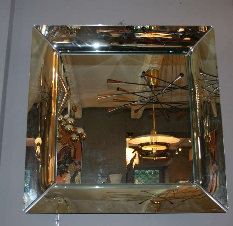 Mirror philippe starck caadre at 1stdibs for Philippe starck miroir