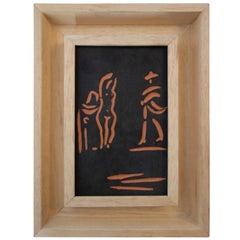 Pablo Picasso & Atelier Madoura, Femme et Toreador, 1968, France.