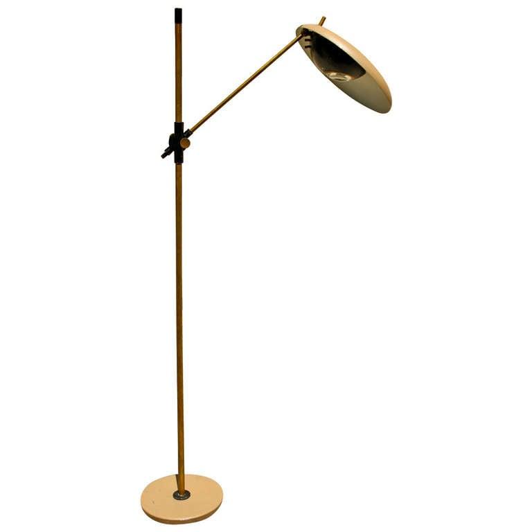 Oscar Torlasco, floor lamp, Lumi Edition, circa 1960, Italy.