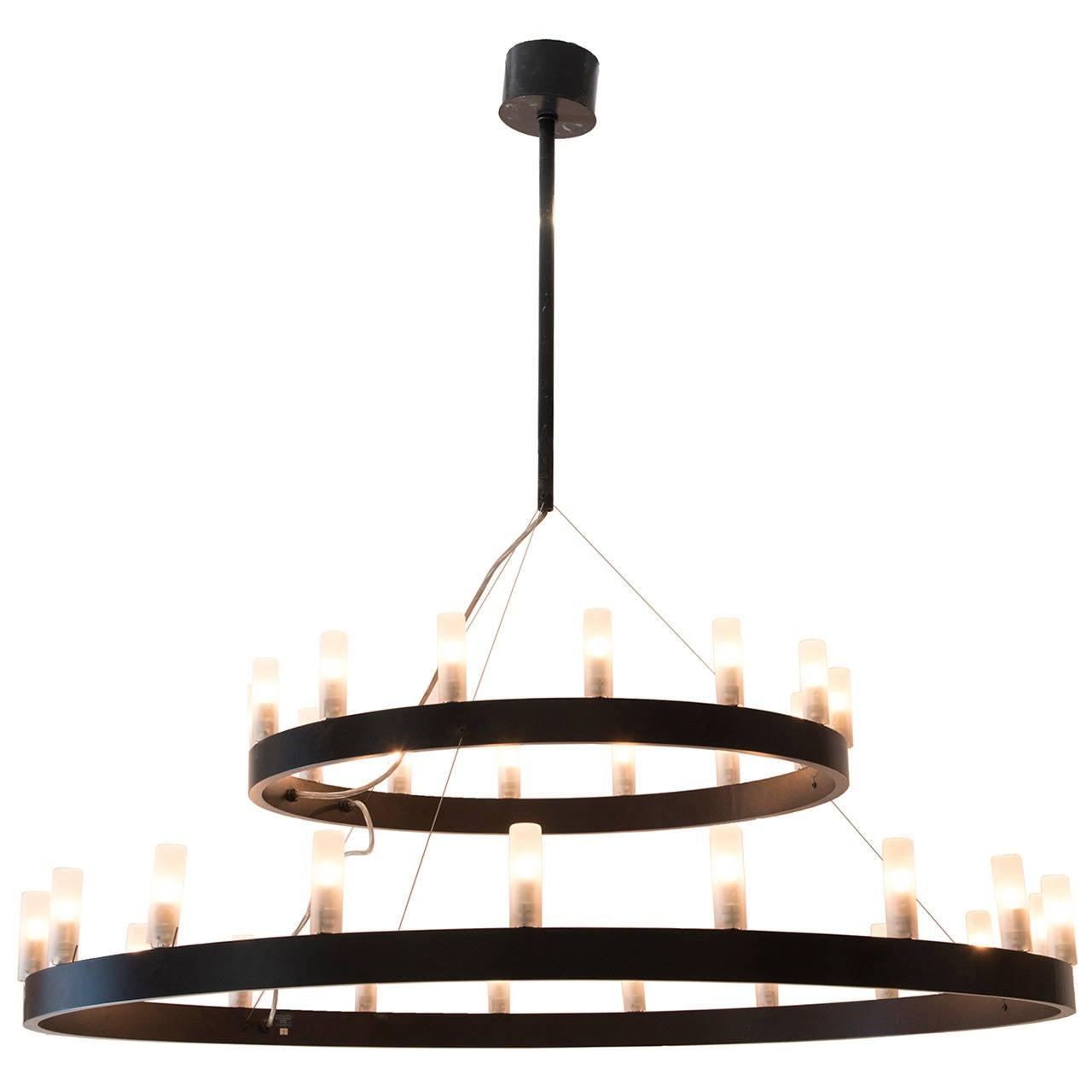 david chipperfield chandelier fontana arte edition italy. Black Bedroom Furniture Sets. Home Design Ideas