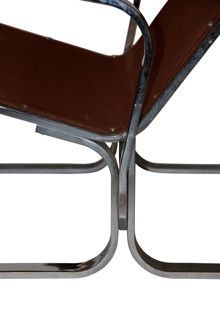 Late 20th Century Ingmar Relling (1920-2002), pair of Armchairs, Sweden, Circa 1970 For Sale