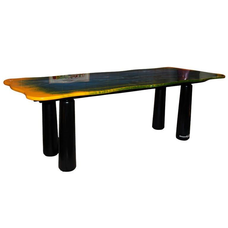 Gaetano Pesce Dining Room Table, \
