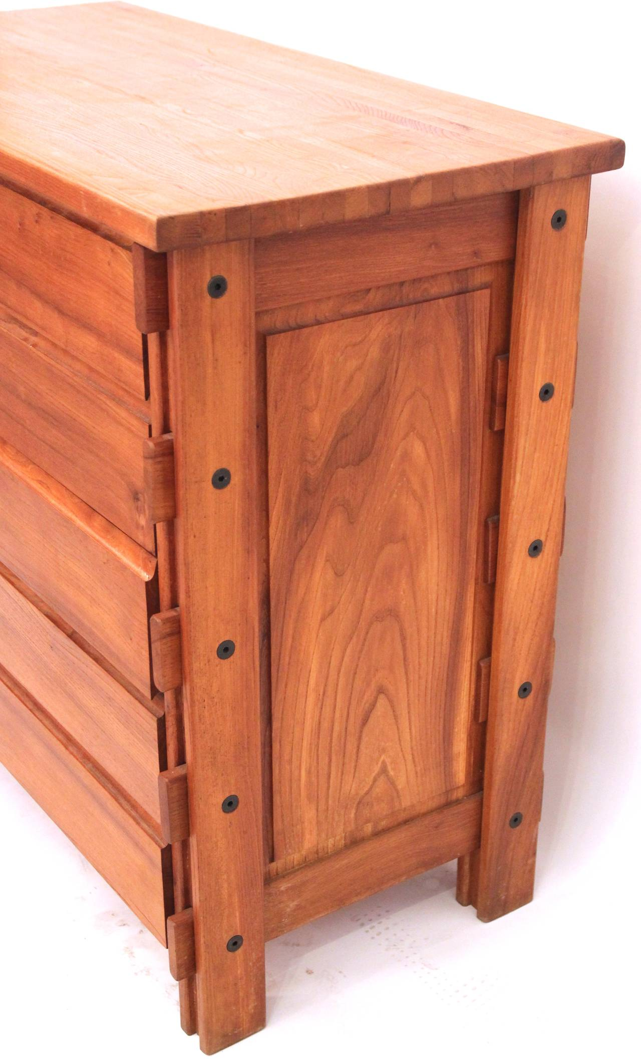 1970s Wood Furniture ~ Regain wood sideboard circa france for sale at stdibs