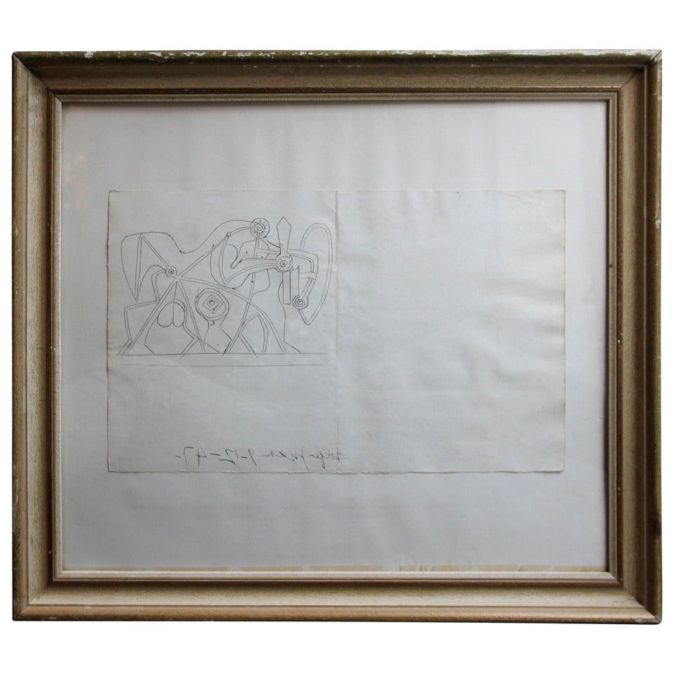 Pablo Picasso La Fosse Commune Etching, 1947