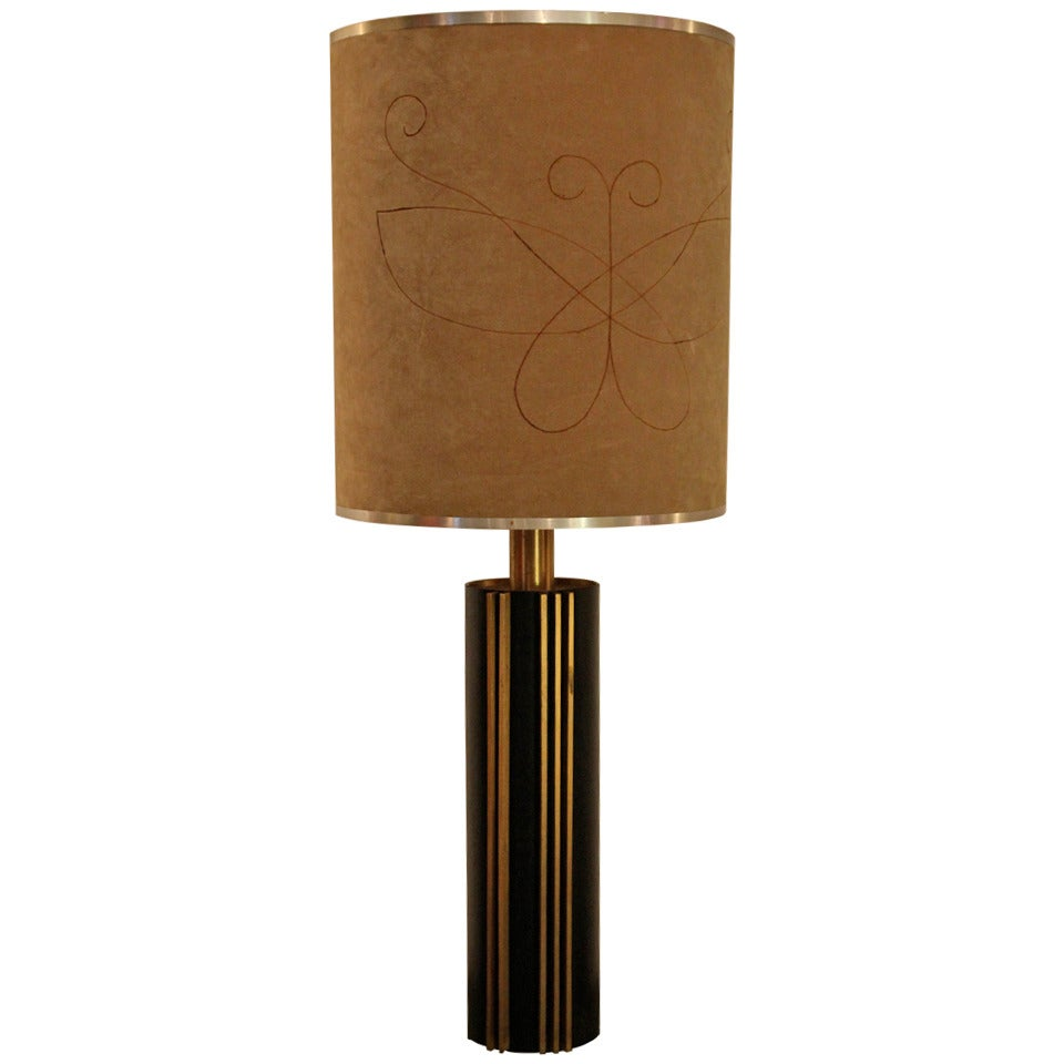 Angelo Brotto Style Table Lamp circa 1970 Italy, Esperia Edition For Sale