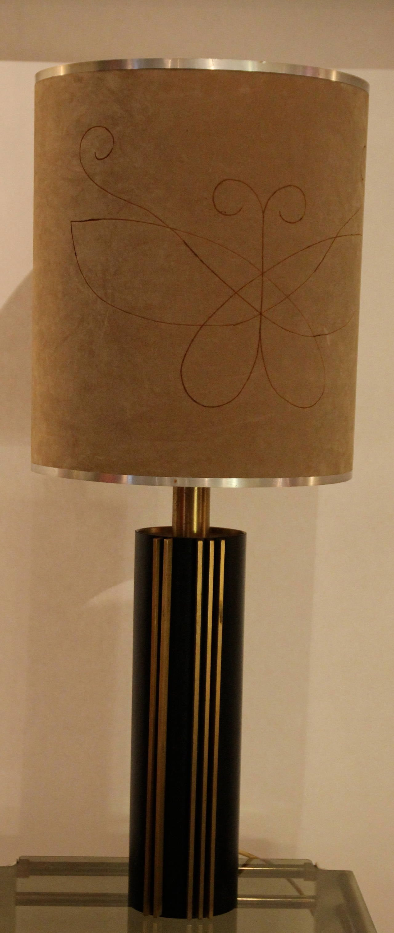 Angelo Brotto, table lamp, circa 1970, Italy, Esperia Edition,