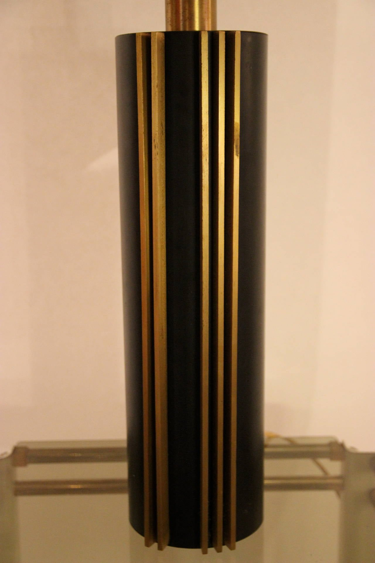 Italian Angelo Brotto Style Table Lamp circa 1970 Italy, Esperia Edition For Sale