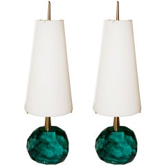 Pair of Lamps by Roberto Giulio Rida