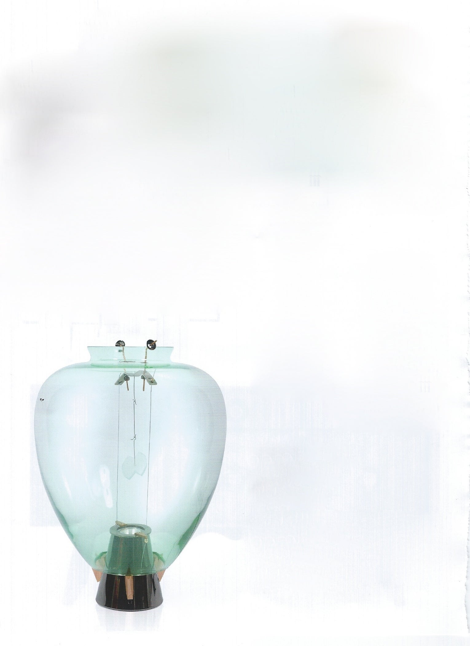 Table lamp model Veronese, manufactured by Barovier & Toso Italy 1984.