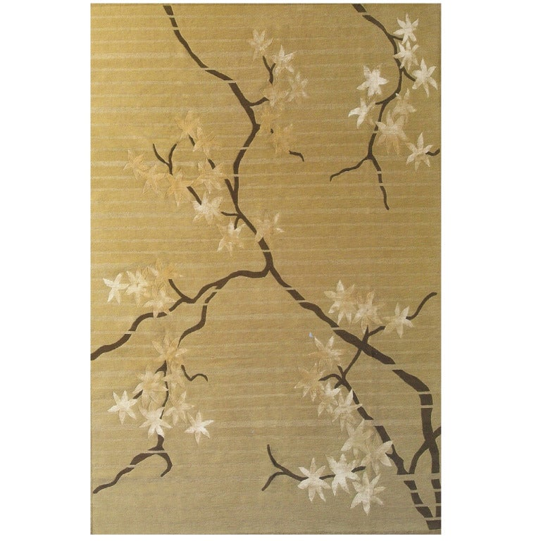 Bsb alfombras contemporan as frank lloyd wright red maple leaf rug at 1stdibs - Alfombras contemporaneas ...