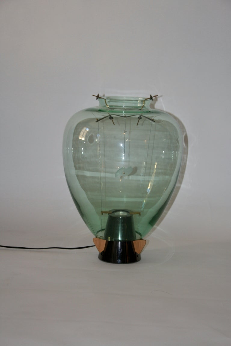 Table lamp model Veronese, manufactured by Barovier & Toso,