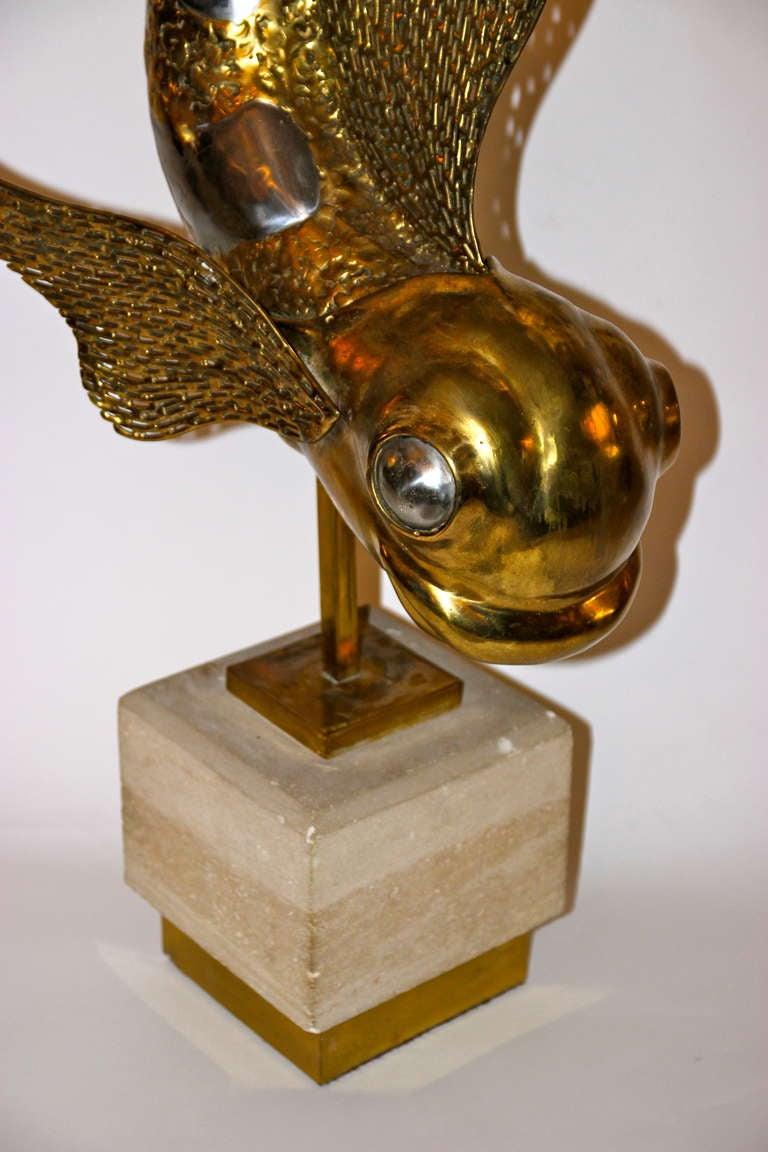 Mid-Century Modern Jacques Duval-Brasseur, Sculpture, Unique Piece, Signed, circa 1973, France For Sale