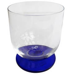 1970s Pierre Cardin Glass Ice Bucket
