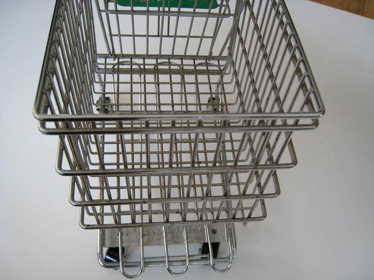 Miniature Shopping Cart Display Piece From Marshall Field 39 S Chicago At 1stdibs