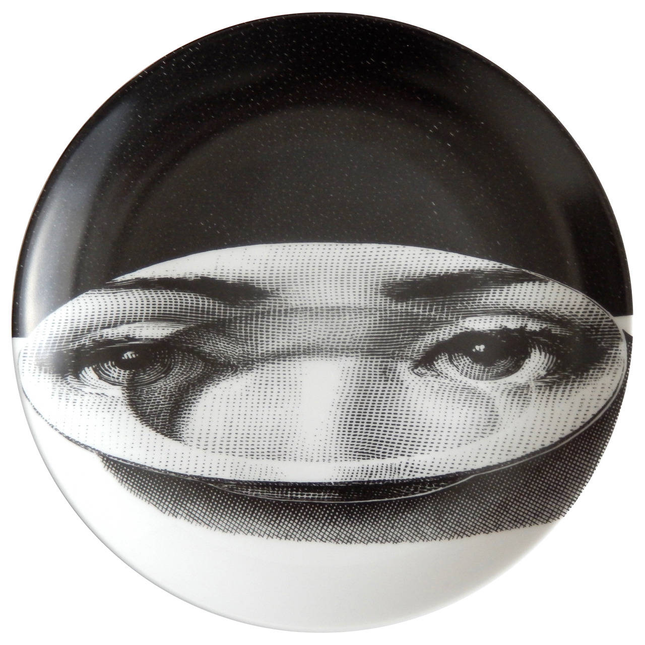 Vintage Plate by Piero Fornasetti, 1960s at 1stdibs