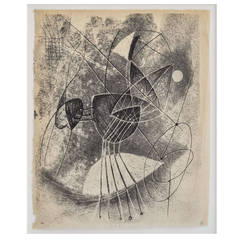 1940s Monotype by Harry Bertoia