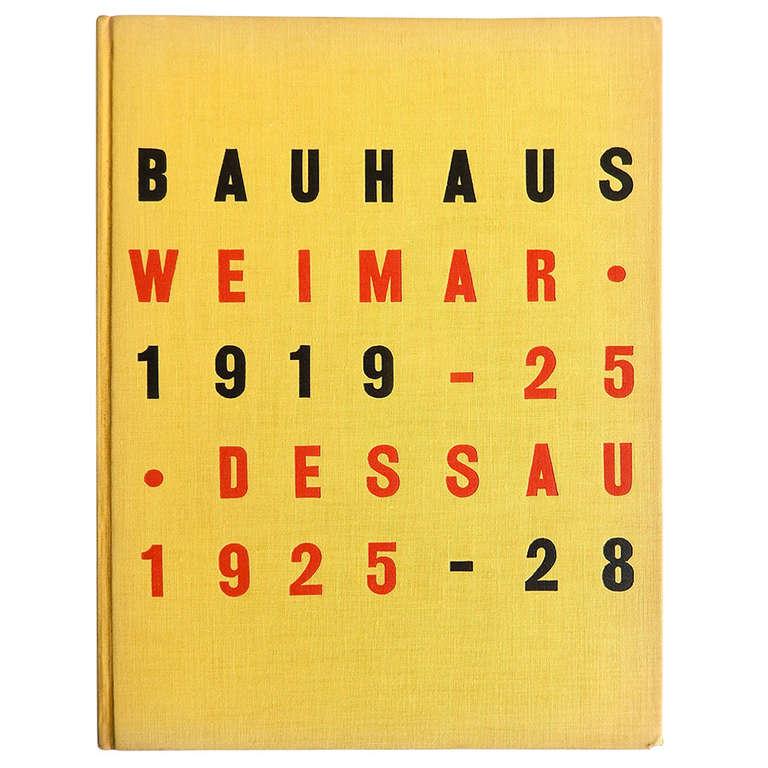 Bauhaus 1919-1928 1st Edition MOMA Exhibition Catalogue, 1938 For Sale
