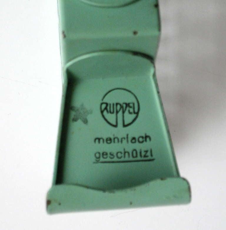 Steel Bauhaus Napkin Holder by Marianne Brandt for Ruppelwerk For Sale