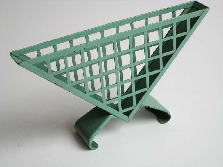 bauhaus napkin holder by marianne brandt for ruppelwerk at. Black Bedroom Furniture Sets. Home Design Ideas