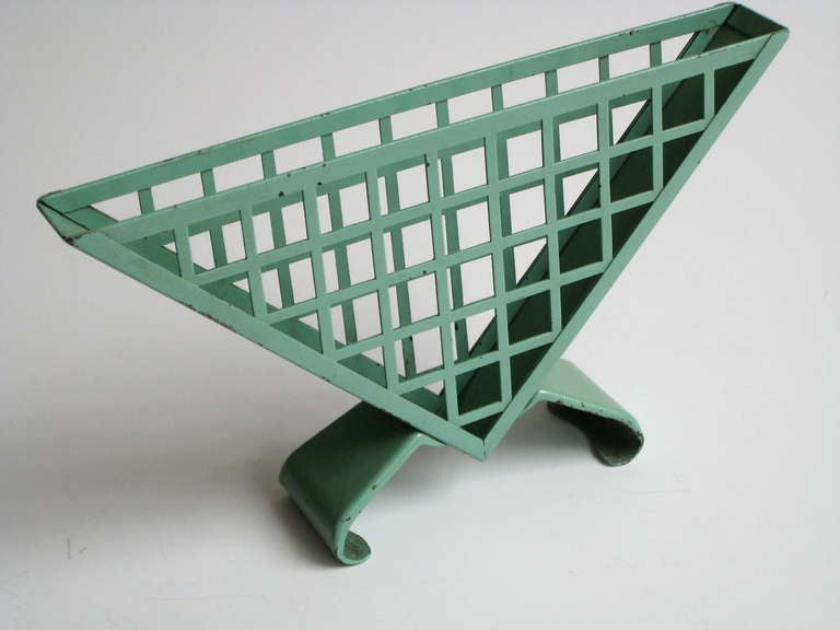 German Bauhaus Napkin Holder by Marianne Brandt for Ruppelwerk For Sale