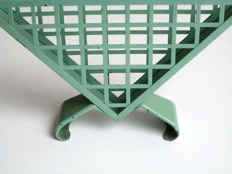 Bauhaus Napkin Holder by Marianne Brandt for Ruppelwerk In Good Condition For Sale In Winnetka, IL