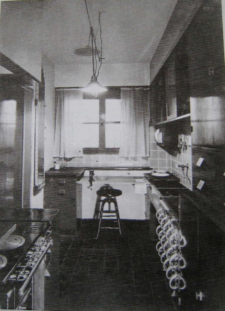 Modern Storage Bins from the 1926 Frankfurt Kitchen/Bauhaus For Sale 2