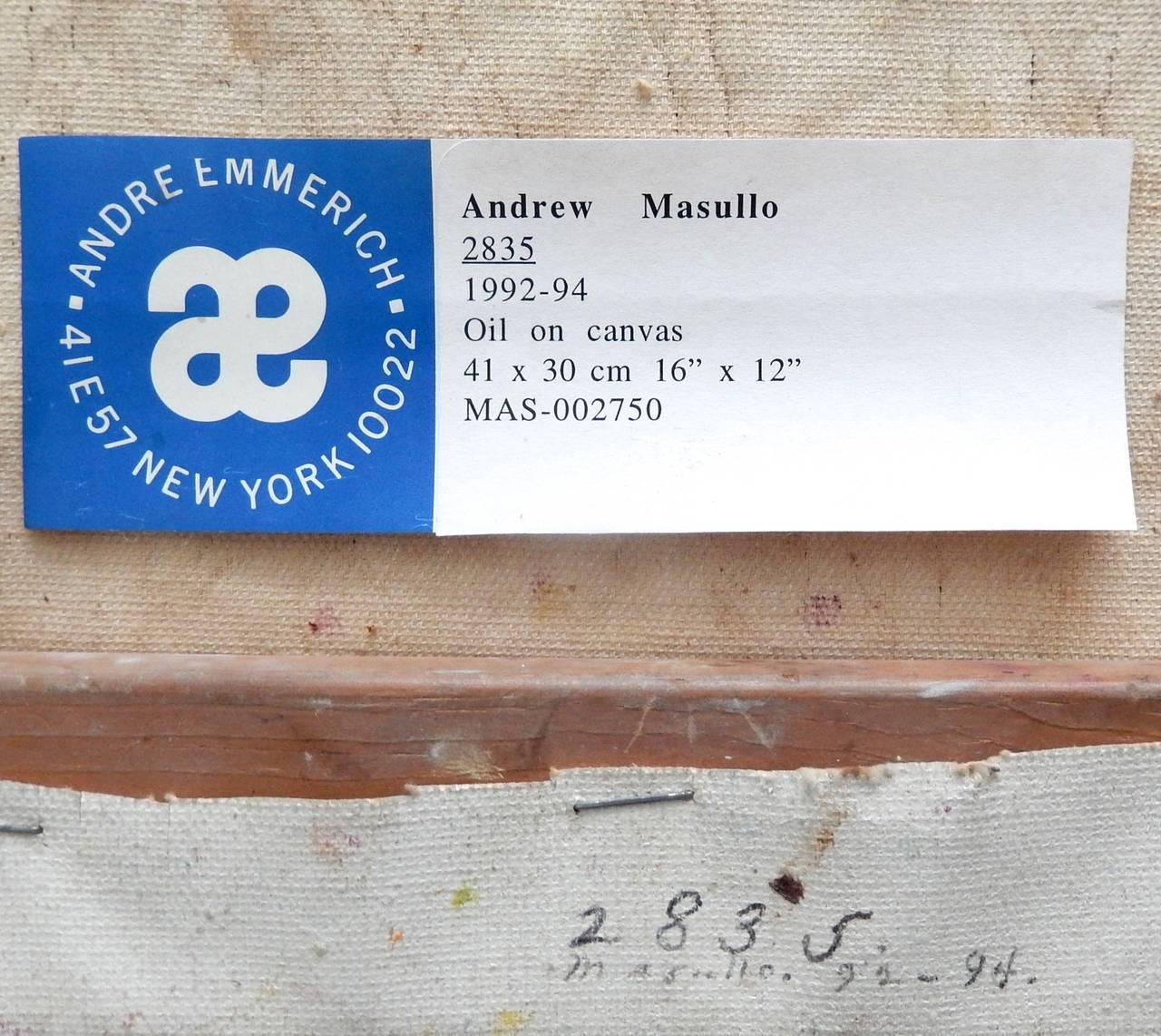Late 20th Century 1992 Andrew Masullo,