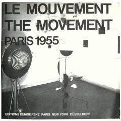 Denise Rene 1975 Exhibition Catalogue: Le Mouvement 1955