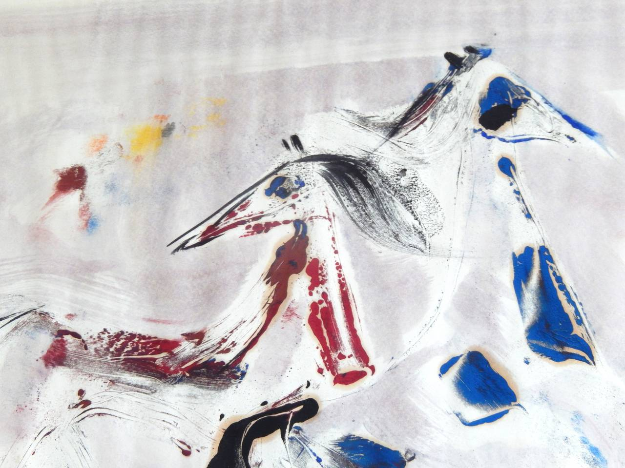 American Polia Pillin Watercolor,