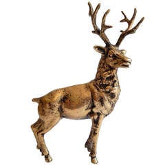 Gucci Brass Stag Reindeer