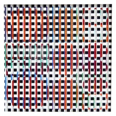 1970s Agam Op Art or Kinetic Polymorph Construction