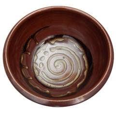Ceramic Bowl by Val Cushing