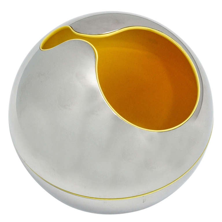 Gio Pomodoro Sphere or Holder for Alessi d'Apres, 1972 For Sale