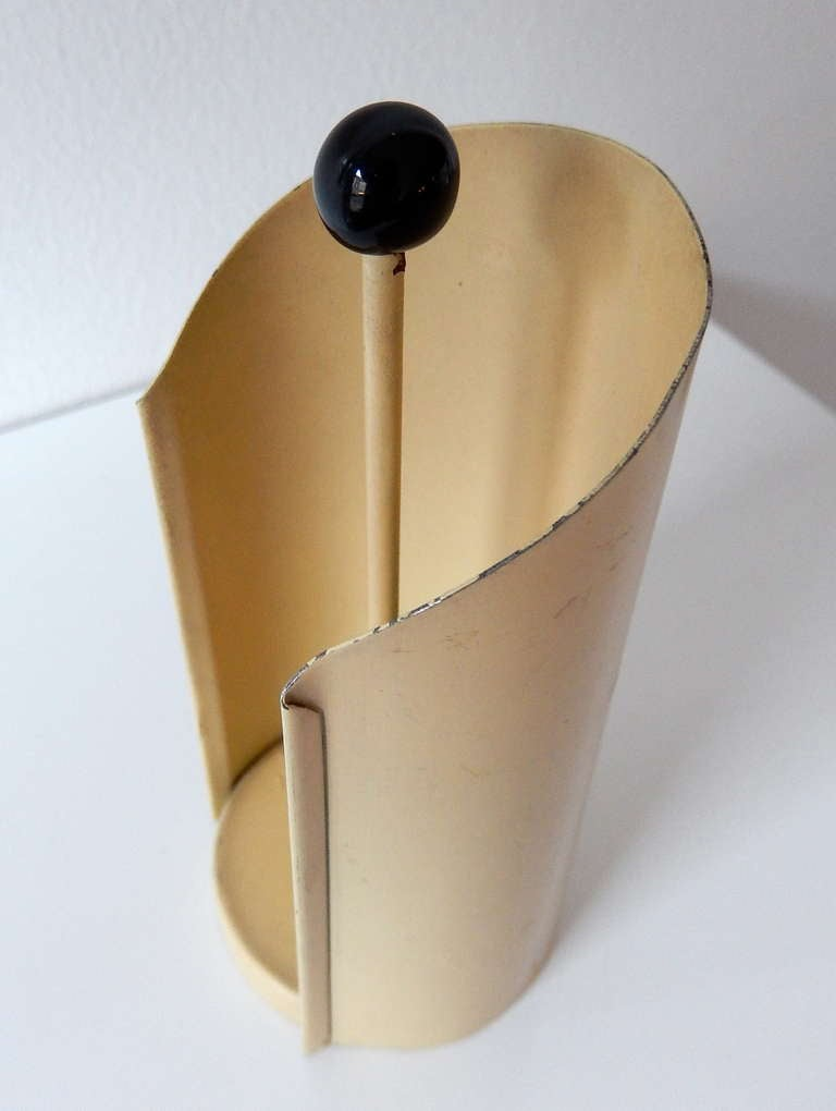 1930s Bauhaus Metalwork Dispenser by Marianne Brandt for Ruppelwerk For Sale 1