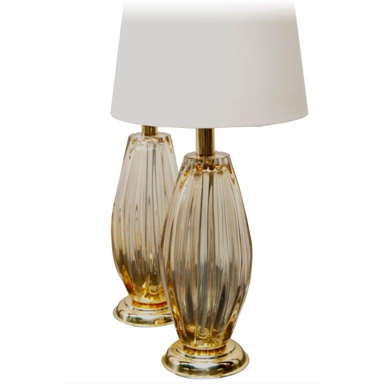 Murano Glass Lamps At 1stdibs
