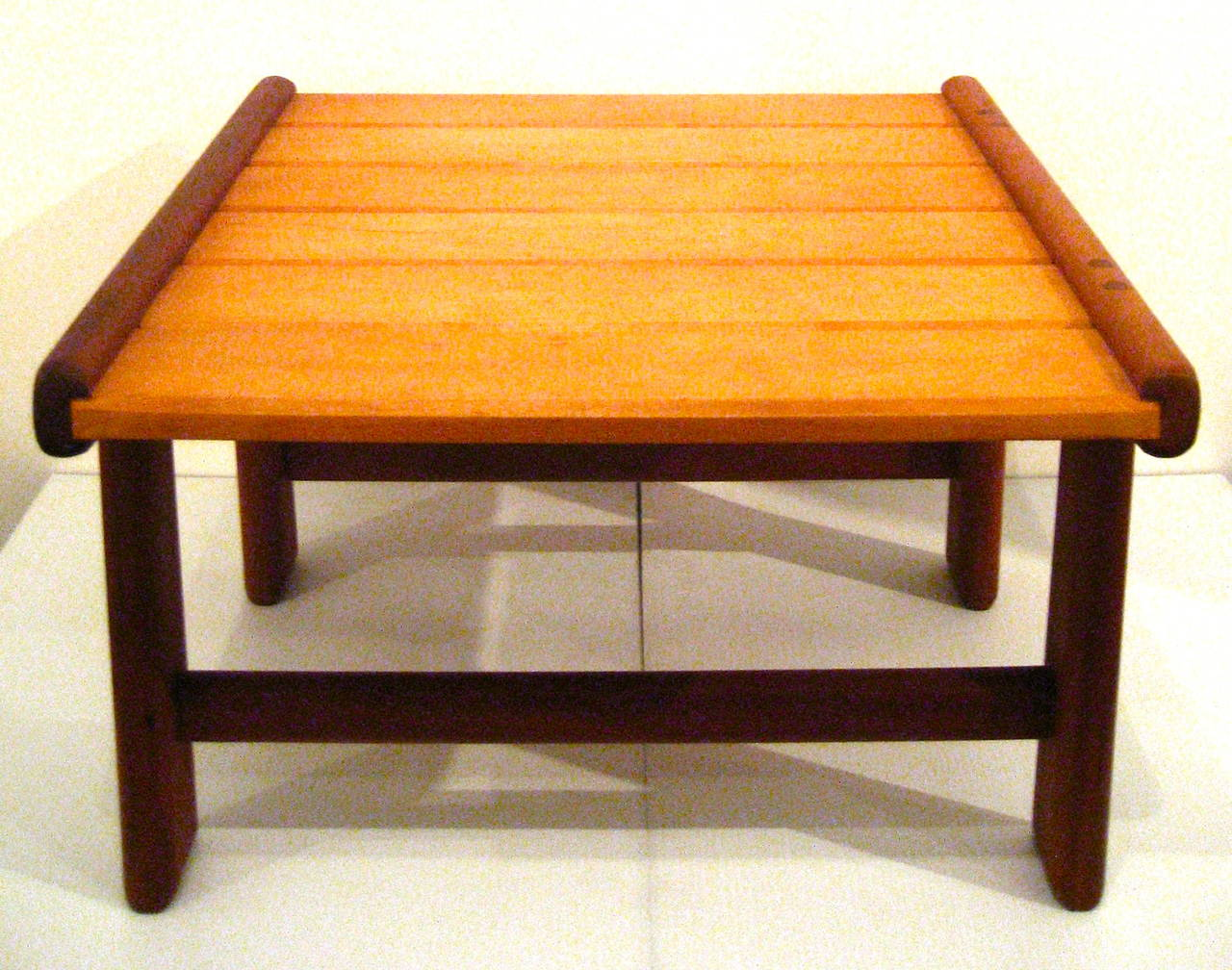 Danish Modern Noguchi Style Low Japanese Bench Or Stool At 1stdibs
