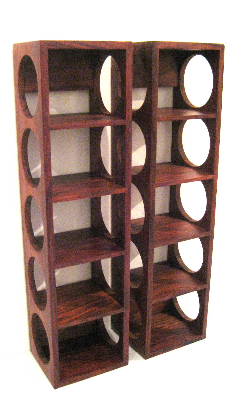Wall mounted wine rack cool vintners wall mount wine rack for Pottery barn wine rack wood
