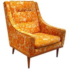 Milo Baughman for James Inc, Single-Arm Lounge Chair