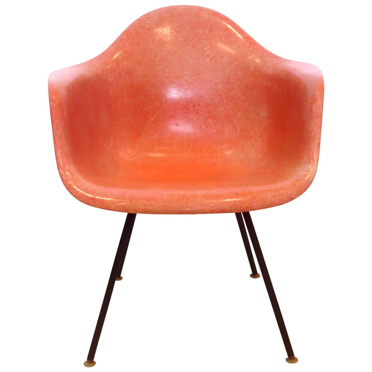 1950s American Modern Eames Fiberglass Arm Shell Chair for  : 2205812l from www.1stdibs.com size 1280 x 1280 jpeg 89kB
