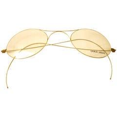1980s XLarge store display eyeglass props by Giorgio Armani