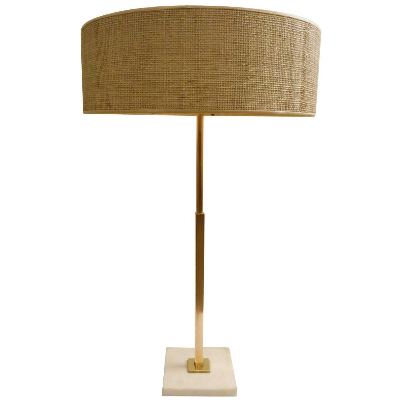 this striking stiffel desk table tall lamp in brass marble base is. Black Bedroom Furniture Sets. Home Design Ideas