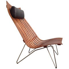 "Hans Brattrud Rosewood ""Scandia"" Chair for Hove Mobler in Beautiful Condition"