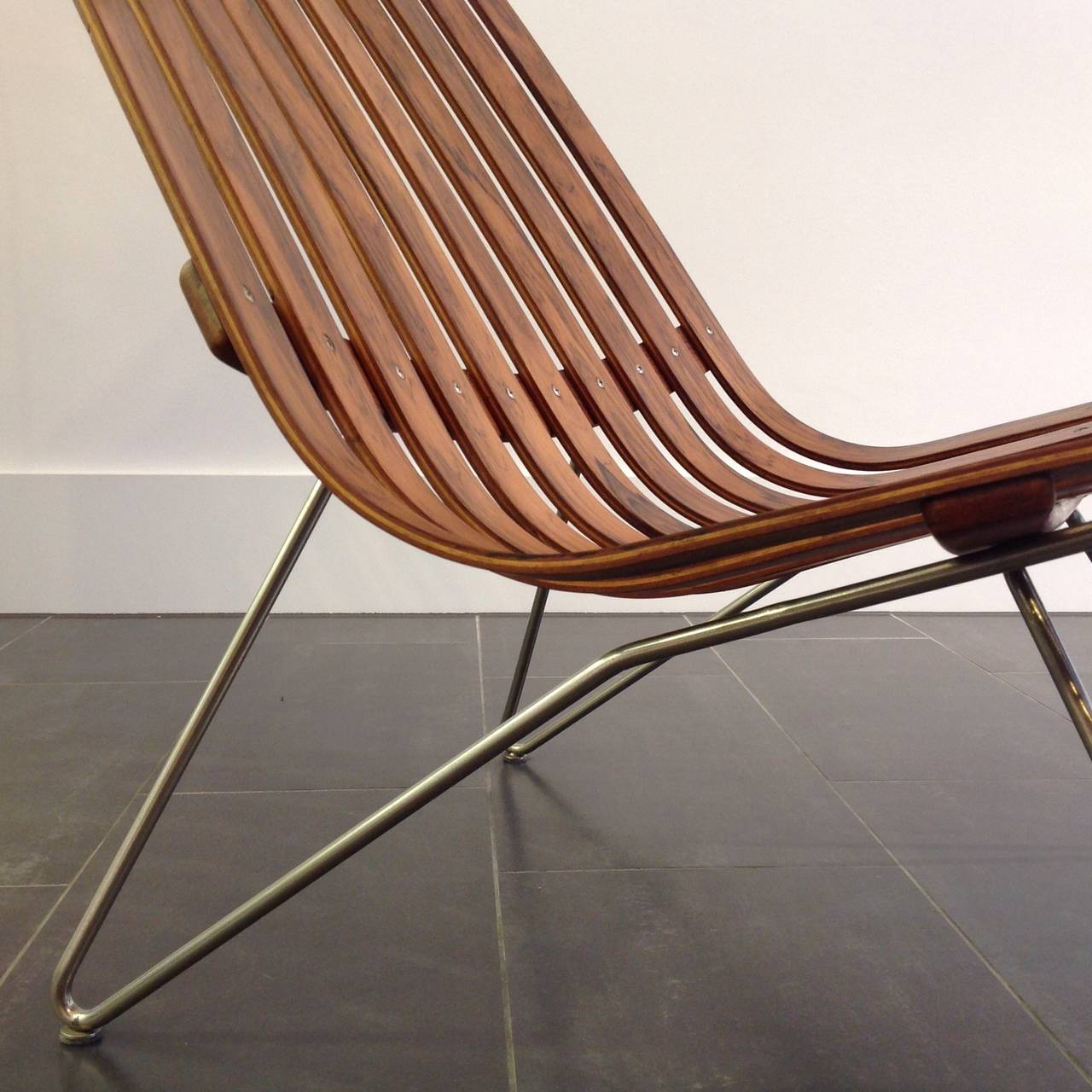 Hans brattrud rosewood scandia chair for hove mobler in for Furniture hove