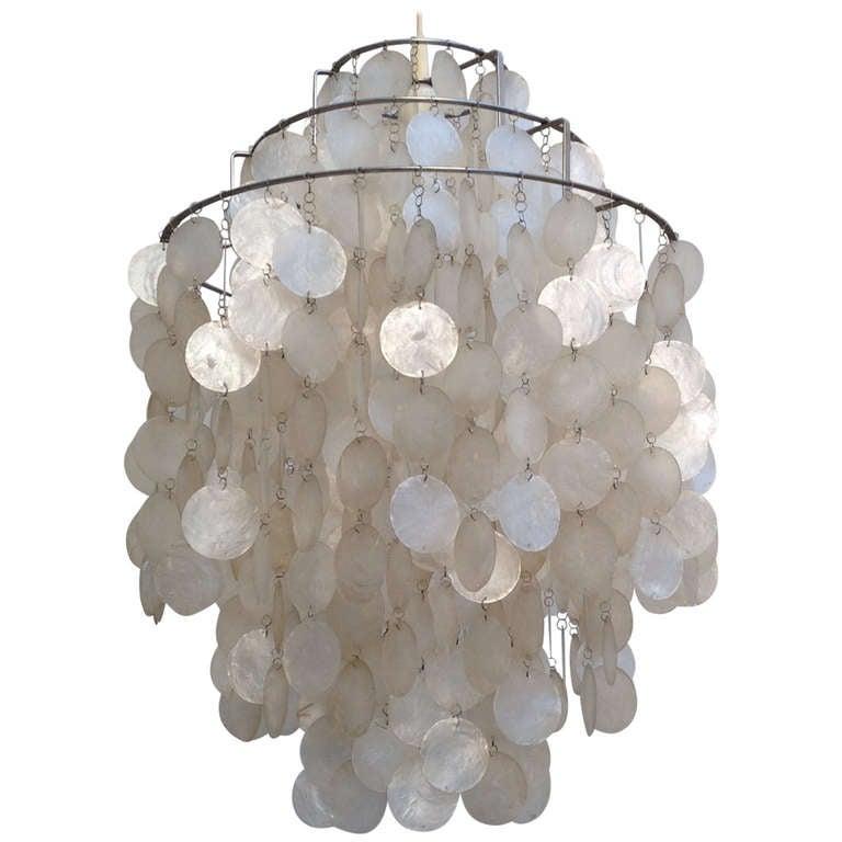 Fun Lamp fun 1 dm shell lampverner panton for lüber. for sale at 1stdibs