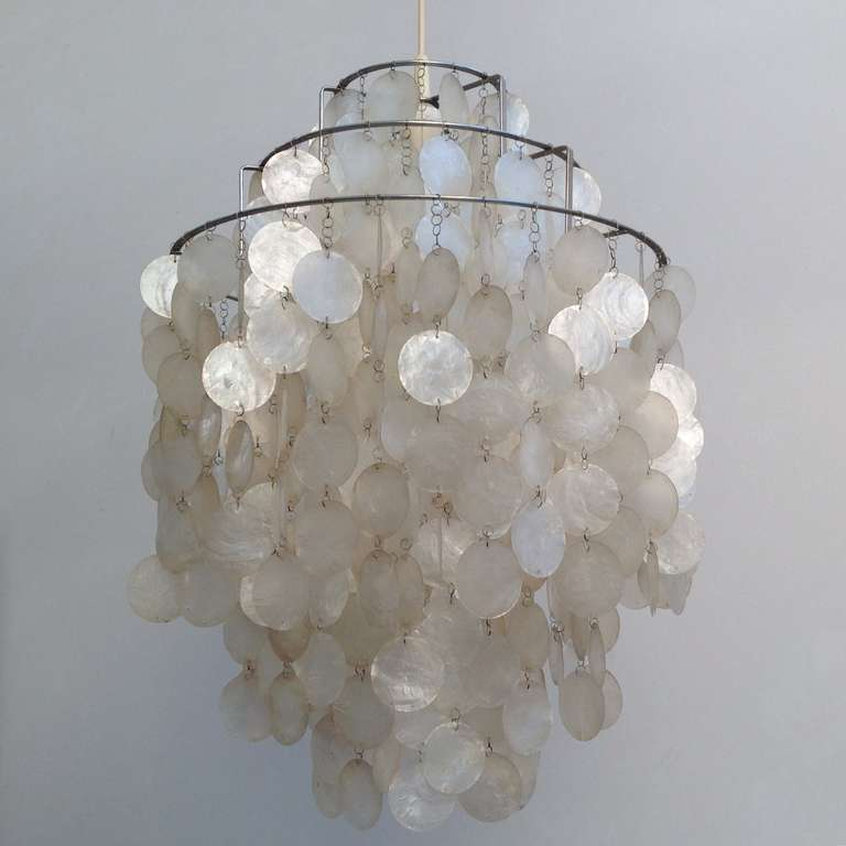 Fun 1 dm shell lamp by verner panton for l ber for sale for Funny lamps for sale