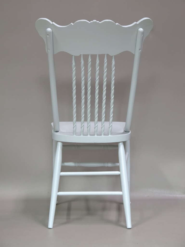 Set of 6 Dining Chairs - France, Circa 1920s For Sale 1