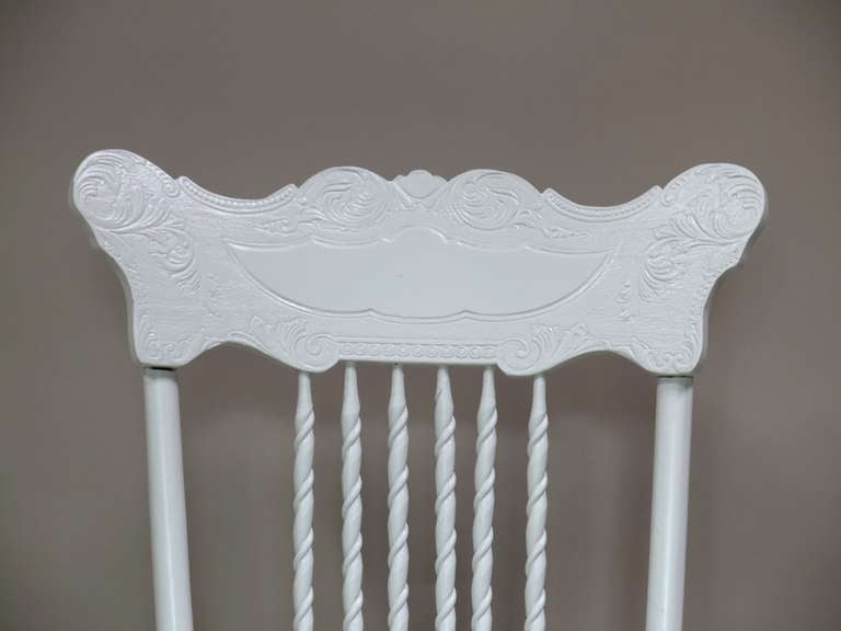Set of 6 Dining Chairs - France, Circa 1920s For Sale 2