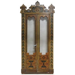 Extraordinary Moorish-Style Double-Door, 19th Century